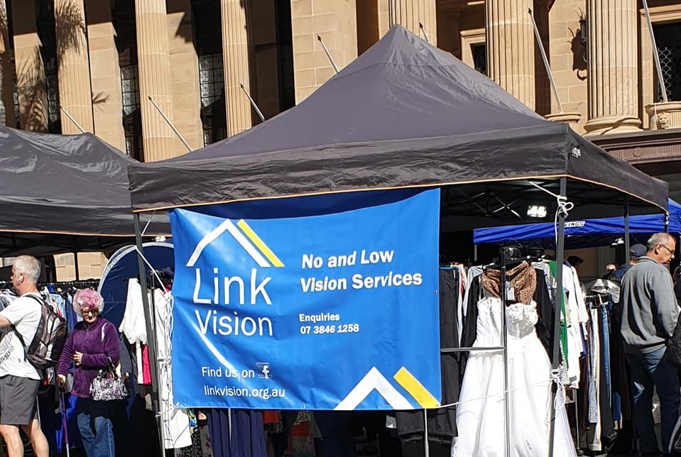 Link Vision Op Shop Charity event King George Square