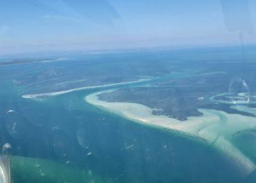 Jeff Flys over Moreton Bay
